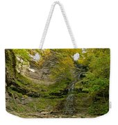 Cathedral Falls West Virginia Weekender Tote Bag