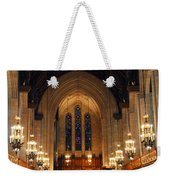 Cathedral In Chicago Weekender Tote Bag