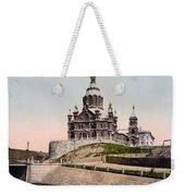 Cathedral In Helsinki Finland - Ca 1900 Weekender Tote Bag