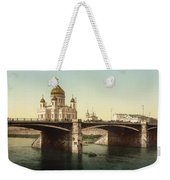 Cathedral Of Christ The Saviour - Moscow Russia Weekender Tote Bag