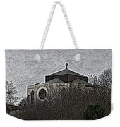 Cathedral On The Hill Weekender Tote Bag