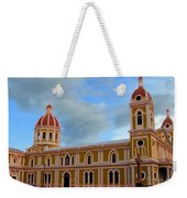Cathedral On The Square Weekender Tote Bag