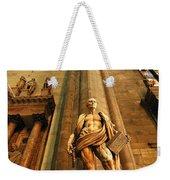 Cathedral Statue Milan Italy Weekender Tote Bag