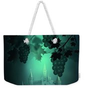 Catle And Grapes Weekender Tote Bag by Svetlana Sewell