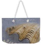 Catspaw Seashell Weekender Tote Bag