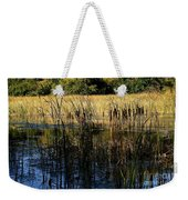 Cattail Duck Cover Weekender Tote Bag