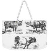 Cattle Breeds, 1856 Weekender Tote Bag