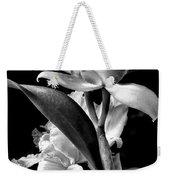 Cattleya - Bw Weekender Tote Bag