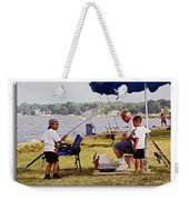 Caught Another One  Weekender Tote Bag by Brian Wallace