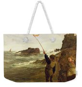 Caught By The Tide Weekender Tote Bag