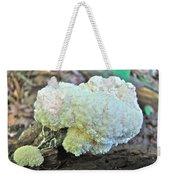 Cauliflower Mushroom On Log Weekender Tote Bag
