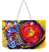 Cautionary Carnival Fish Weekender Tote Bag