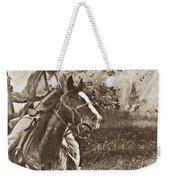 Cavalry Rides Again Weekender Tote Bag
