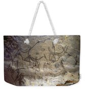 Cave Art - Mammoth And Ibexes Weekender Tote Bag