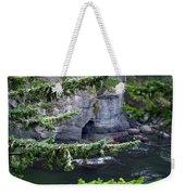 Cave Of The Bay Weekender Tote Bag
