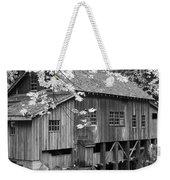 Cedar Creek Grist Mill Bw Weekender Tote Bag