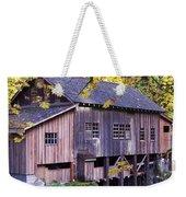 Cedar Creek Grist Mill In Autumn Weekender Tote Bag