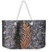 Cedar On Granite Weekender Tote Bag