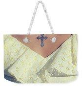 Celctic Cross Weekender Tote Bag