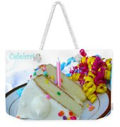 Celebrate Weekender Tote Bag