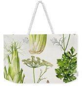Celery - Fennel - Dill And Celeriac  Weekender Tote Bag
