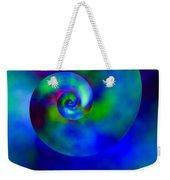 Celestial Nautilus Weekender Tote Bag