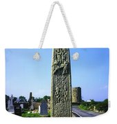 Celtic High Cross At Drumcliff Weekender Tote Bag