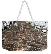 Cemetary Path Weekender Tote Bag