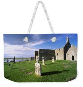 Cemetery In Front Of A Monastery Weekender Tote Bag