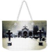 Cemetery Weekender Tote Bag