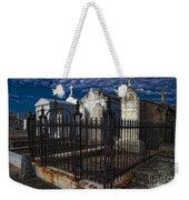 Cemetery Landscape Weekender Tote Bag