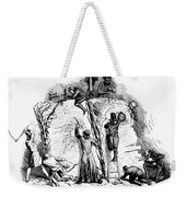 Censorship: Allegory Weekender Tote Bag