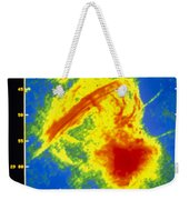 Center Of The Galaxy Radio Image Weekender Tote Bag