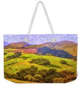 Central Coast Wine Country Weekender Tote Bag