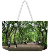 Central Park Arbor Walk Spring Weekender Tote Bag