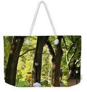 Central Park Jogging Weekender Tote Bag