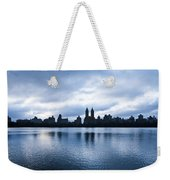 Central Park Lake Weekender Tote Bag