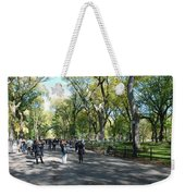 Central Park Mall Weekender Tote Bag by Rob Hans
