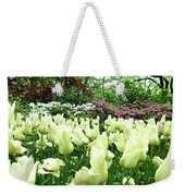 Central Park Tulips Weekender Tote Bag