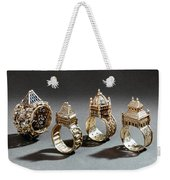 Ceremonial Marriage Rings Weekender Tote Bag