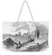 Ceylon: Outrigger, 1860 Weekender Tote Bag
