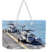 Ch-53e Super Stallion Helicopters Weekender Tote Bag