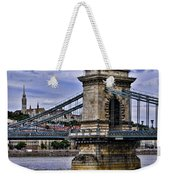 Chain Bridge  Budapest Weekender Tote Bag