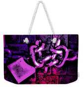 Chained Weekender Tote Bag