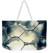 Chainlink Fence Weekender Tote Bag by Joana Kruse