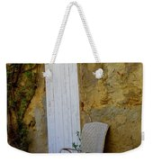 Chair By The White Door Weekender Tote Bag