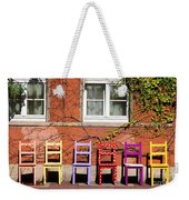 Chairs At Hamlyn Weekender Tote Bag