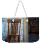 Chairs In Rundown House Weekender Tote Bag