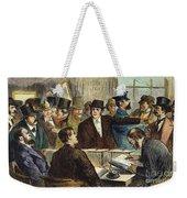 Challenging A Voter, 1872 Weekender Tote Bag