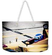 Champ Car Driver Weekender Tote Bag